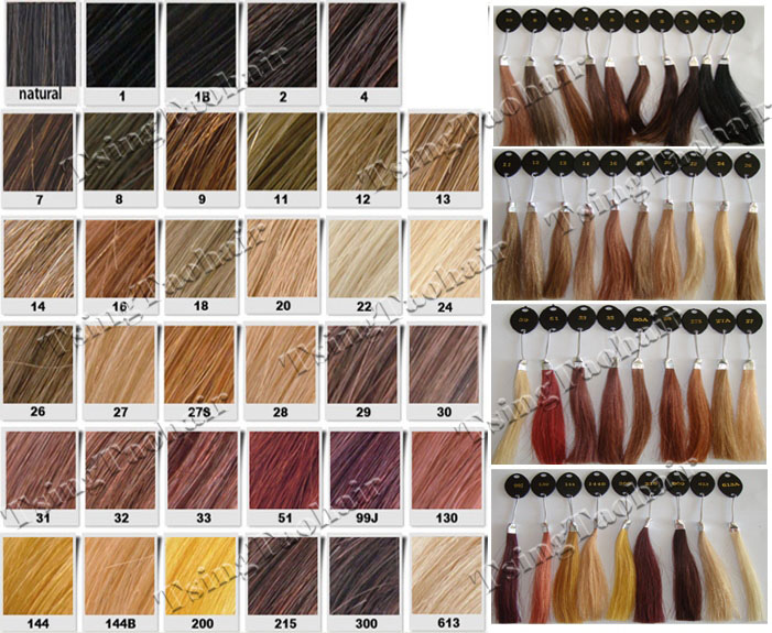 Lace Wigs |Hair Color Chart